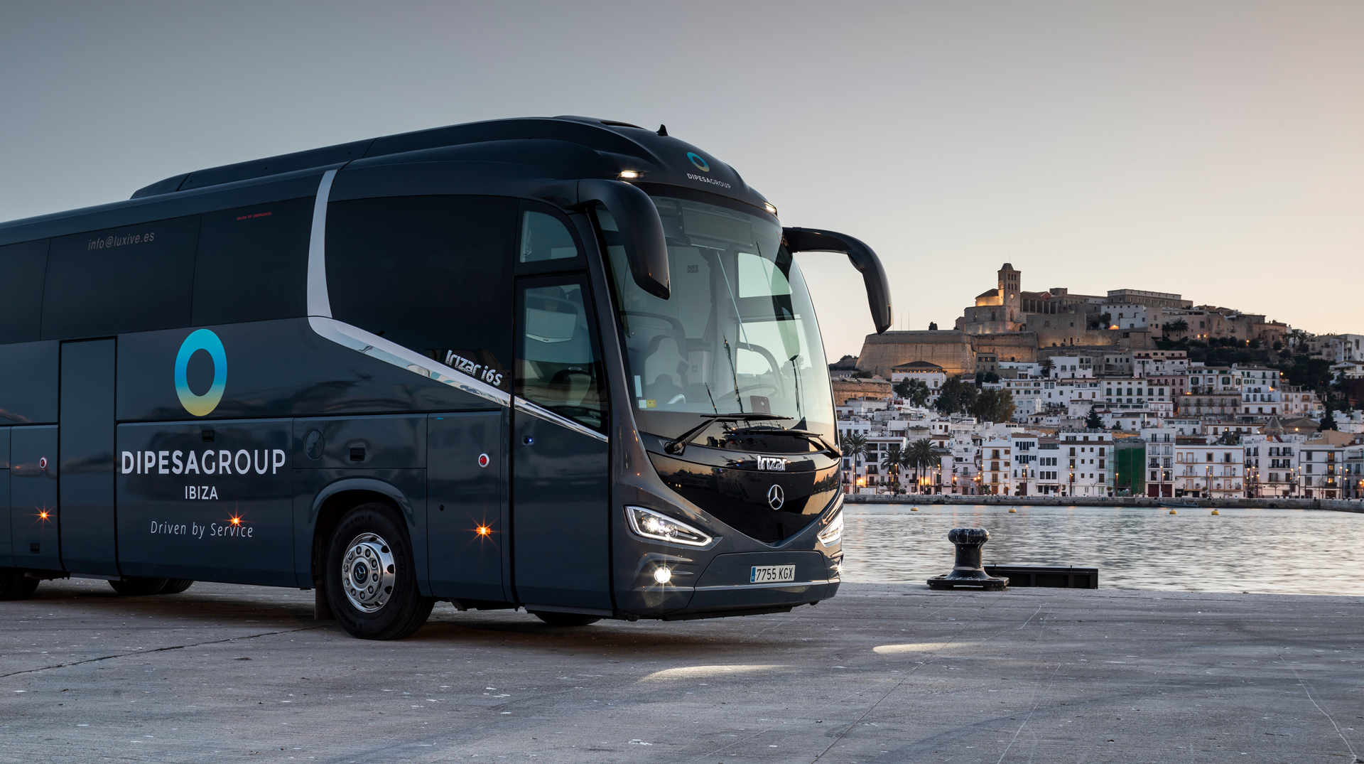 Professional transport in Ibiza